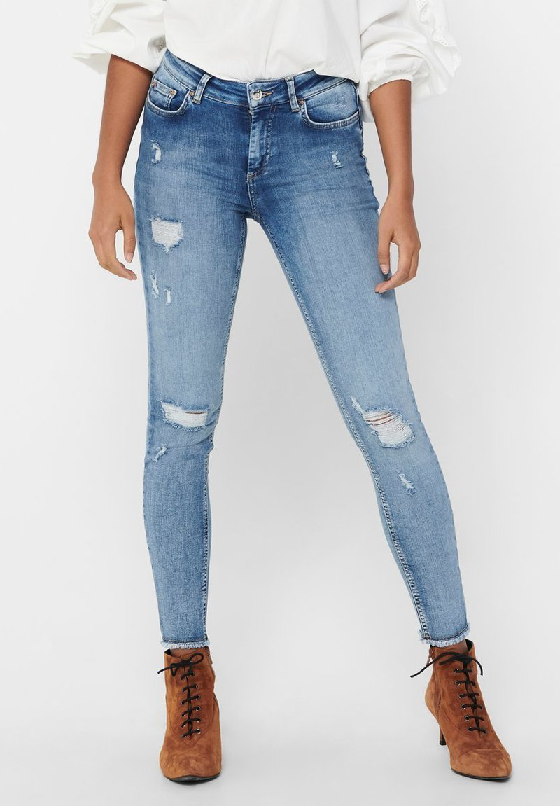 ONLY - ONLBLUSH LIFE - Jeans Skinny Fit - light blue denim