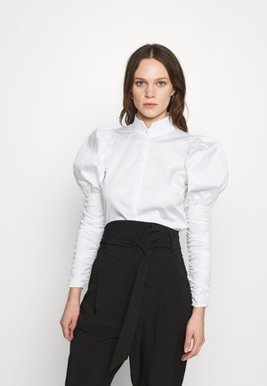 NILA - Button-down blouse - white