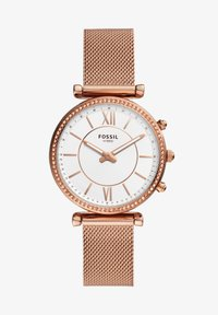 Fossil Smartwatches - CARLIE HYBRID - Smartwatch - rose gold - 0
