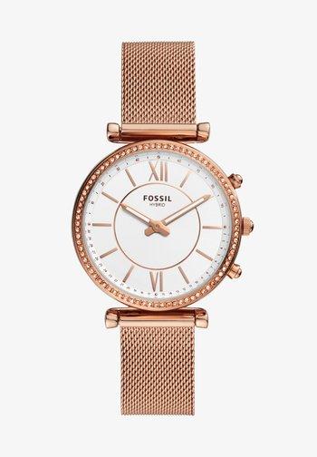 CARLIE HYBRID - Smartwatch - rose gold