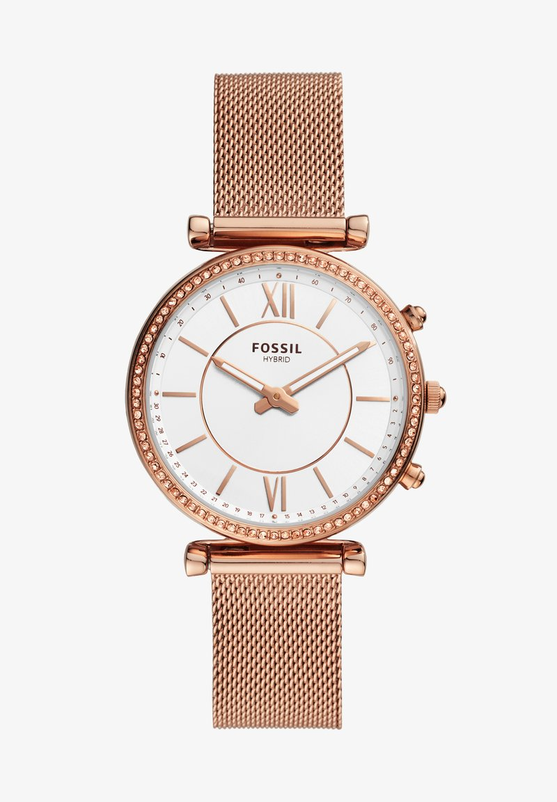 Fossil Smartwatches - CARLIE HYBRID - Smartwatch - rose gold