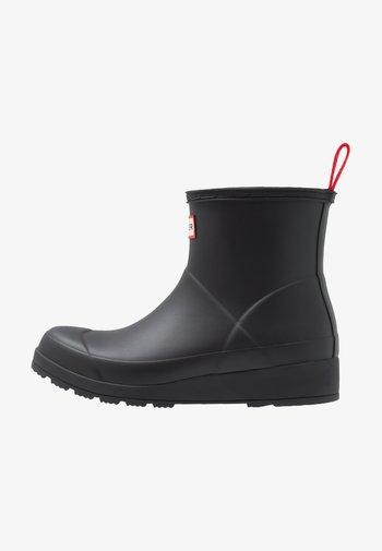 PLAY BOOT SHORT VEGAN - Wellies - Regenlaarzen - black