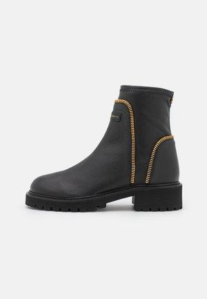 BIKER - Classic ankle boots - noble nero