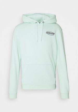 JAPANESE STREET STRIP HOODIE UNISEX - Sweatshirt - green