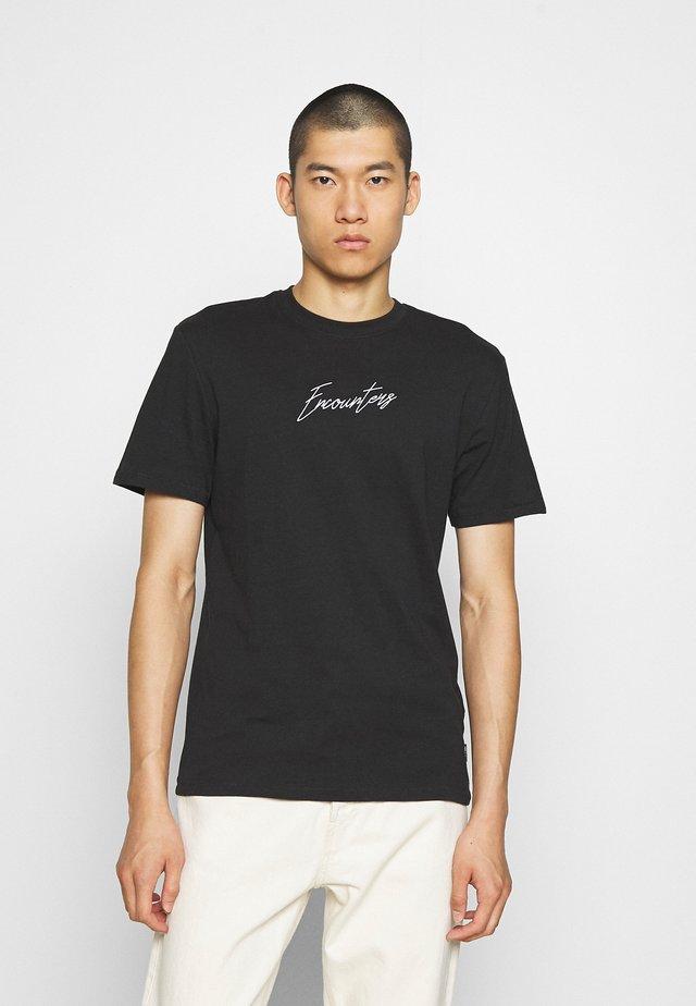 ONSJENS LIFE TEE - T-shirts print - black
