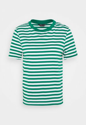 CREW TEE - Print T-shirt - green