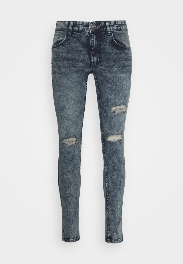 Slim fit jeans - dull navy