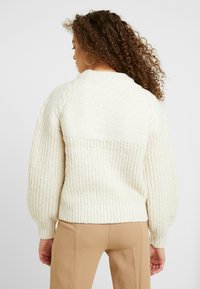 Dorothy Perkins Petite - CABLE YOKE JUMPER - Strickpullover - cream - 2