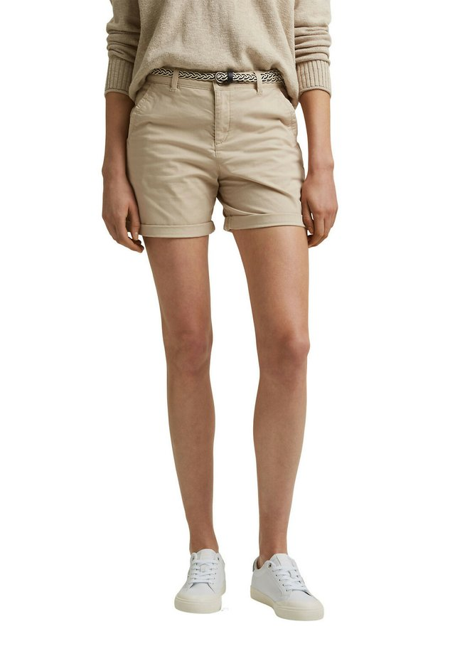 STRETCH  - Shorts - beige