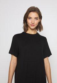 Monki - KARINA DRESS - Jersey dress - black - 3