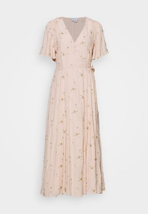 MABEL DRESS - Vestido largo - pink/gold