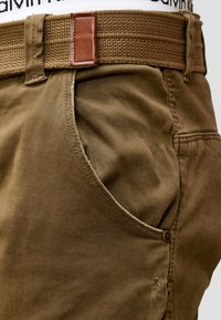 INDICODE JEANS - RAYANE - Cargo trousers - brown - 4