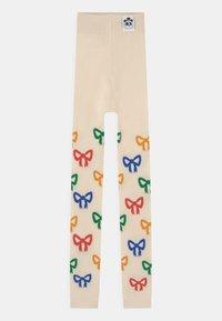 Mini Rodini - BOW UNISEX - Legging - off white - 0