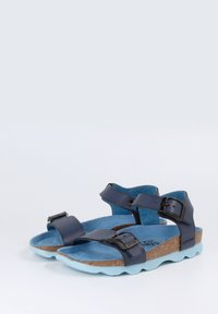 Genuins - PRATO VACHETTA - Sandals - navy - 2