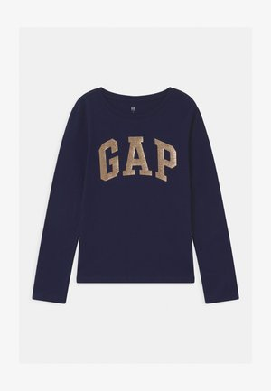GIRL VALUE LOGO - Long sleeved top - navy uniform
