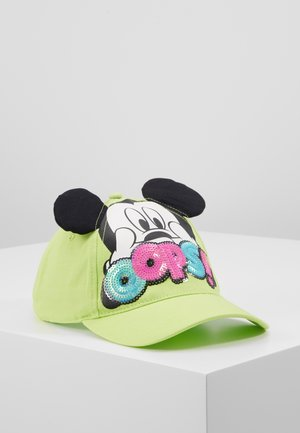 WITH VISOR - Casquette - green