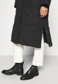 TOM TAILOR DENIM - PADDED LONG COAT - Winter coat - deep black - 4