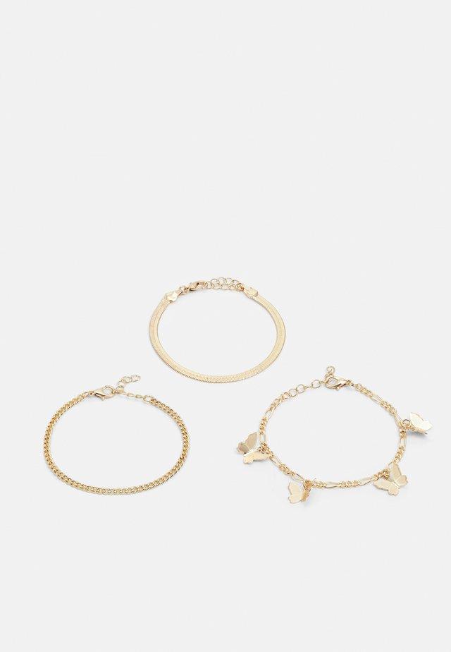 LATTY BRACELET 3 PACK - Rannekoru - gold-coloured