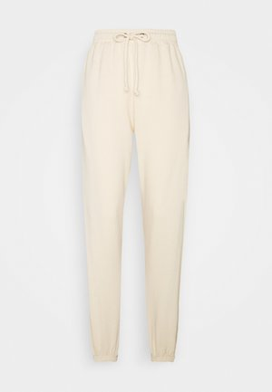 OVERSIZED JOGGER - Tracksuit bottoms - cream