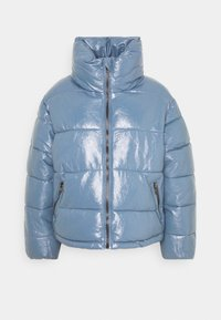 Glamorous Petite - PUFFER JACKET WITH SIDE DRAWSTRINGS - Winter jacket - blue - 0