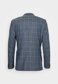 Matinique - CHECK STRETCH - Suit - dust blue - 12