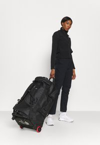 The North Face - BASE CAMP DUFFEL ROLLER - Holdall - black - 0