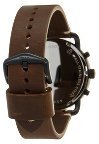 Fossil - COMMUTER - Chronograph watch - braun - 2