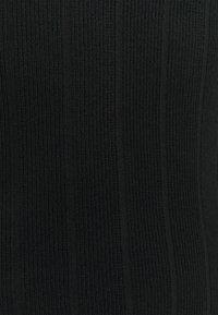 Missguided Tall - BUTTON CUFF CREW NECK - Jumper - black - 2