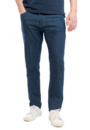 Straight leg jeans - indaco