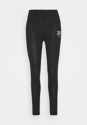 BUONO STRETCH - Leggings - Trousers - black