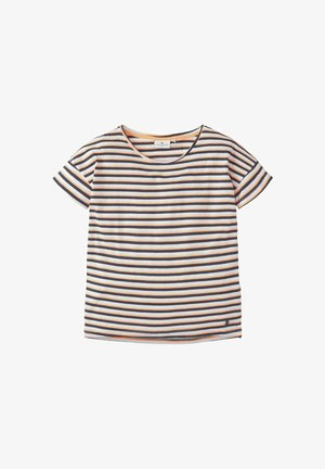 M LOOSE FIT - T-shirt print - y/d stripe multicolored