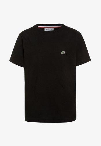 TURTLE NECK - Basic T-shirt - black