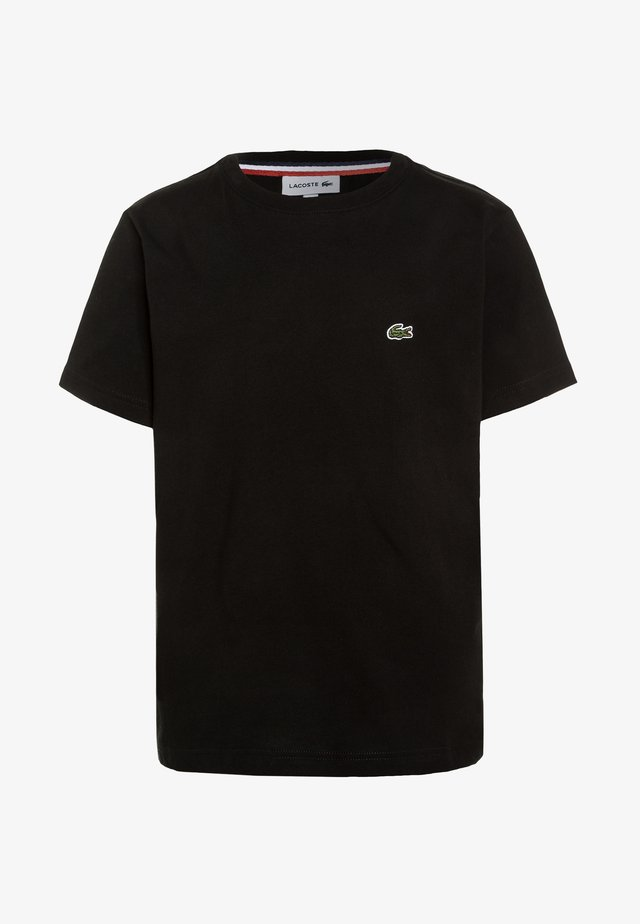 TURTLE NECK - Basic T-shirt - black