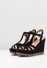 UGG - MELISSA - Højhælede sandaletter / Højhælede sandaler - black - 4