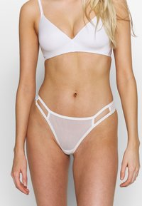 LASCANA - THONG - String - white - 0