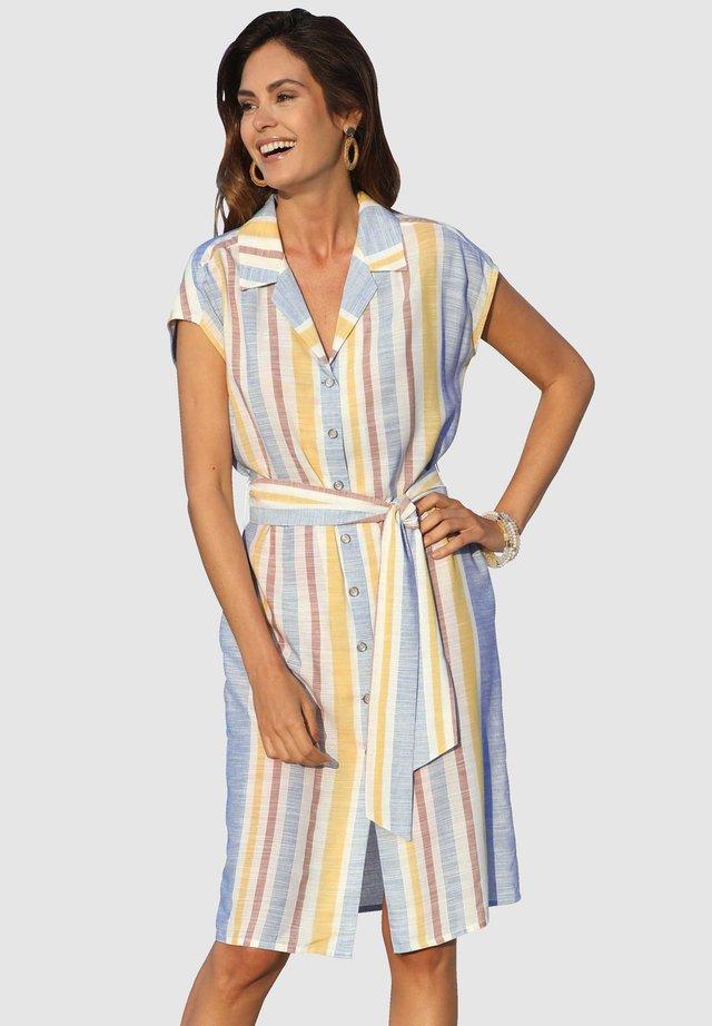 Shirt dress - hellblau