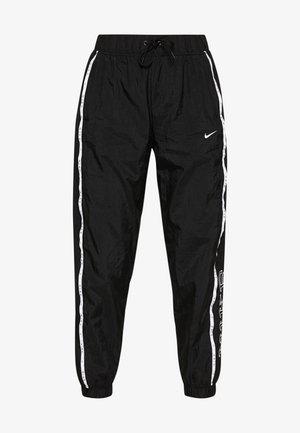 PANT PIPING - Kalhoty - black/white