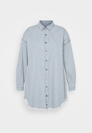 OVERSIZED DRESS - Farkkumekko - blue