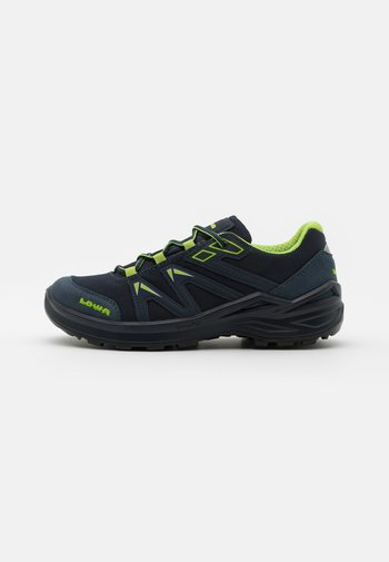 INNOX PRO GTX LO LACING UNISEX - Hiking shoes - stahlblau/limone