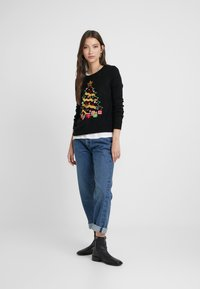 Vero Moda - VMCHRISTMASTREE O-NECK - Jumper - black/green/red/misty rose/gold - 1