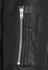 Abercrombie & Fitch - Faux leather jacket - black - 2