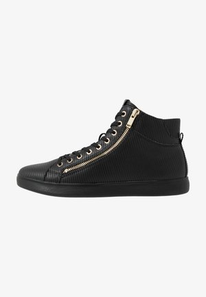KECKER - Sneakersy wysokie - black