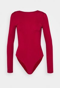 Trendyol - Long sleeved top - burgundy - 0