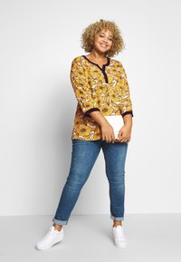 Ciso - BLOUSE WITH FLOWER PRINT - Bluser - cheddar/yellow - 1