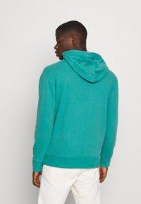 Hollister Co. - SOLID SCRIPT - Sweatshirt - green blue - 2