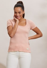 Odd Molly - MAGDA - Basic T-shirt - pink conch - 3