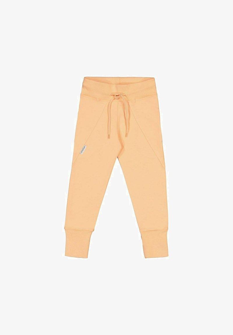 GUGGUU - Tracksuit bottoms - light yellow