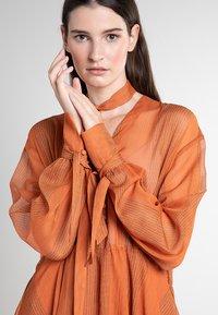 Mykke Hofmann - CHIF - Maxi dress - orange - 3