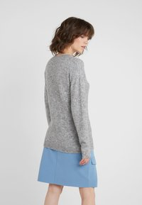 Bruuns Bazaar - HOLLY JOHANNE  - Svetr - light grey melange - 2