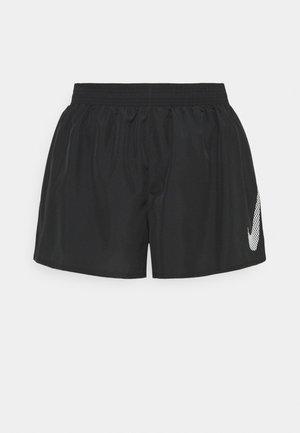 10K SHORT PLUS - Korte sportsbukser - black/white